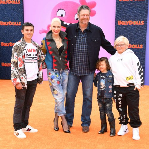 Blake Shelton, Gwen Stefani and her boys