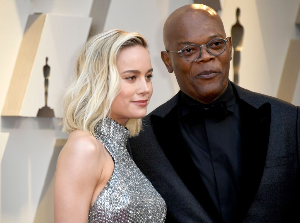 Brie Larson and Samuel L. Jackson are close friends