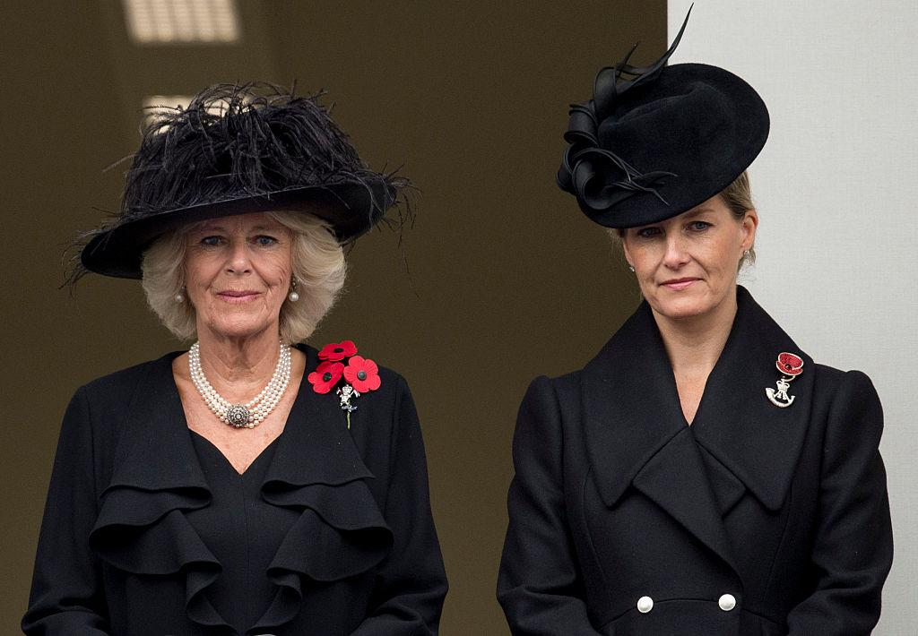 Camilla Parker Bowles and Sophie, Countess of Wessex