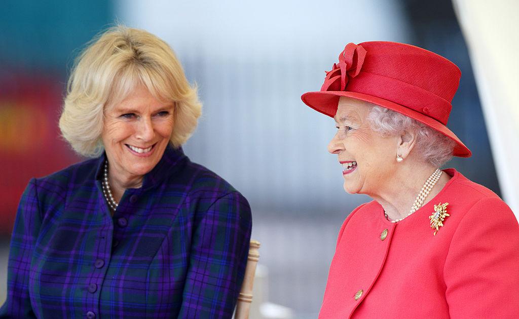 Camilla and Queen Elizabeth