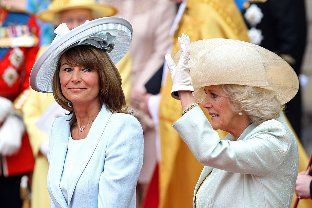 Carole Middleton and Camilla Parker Bowles