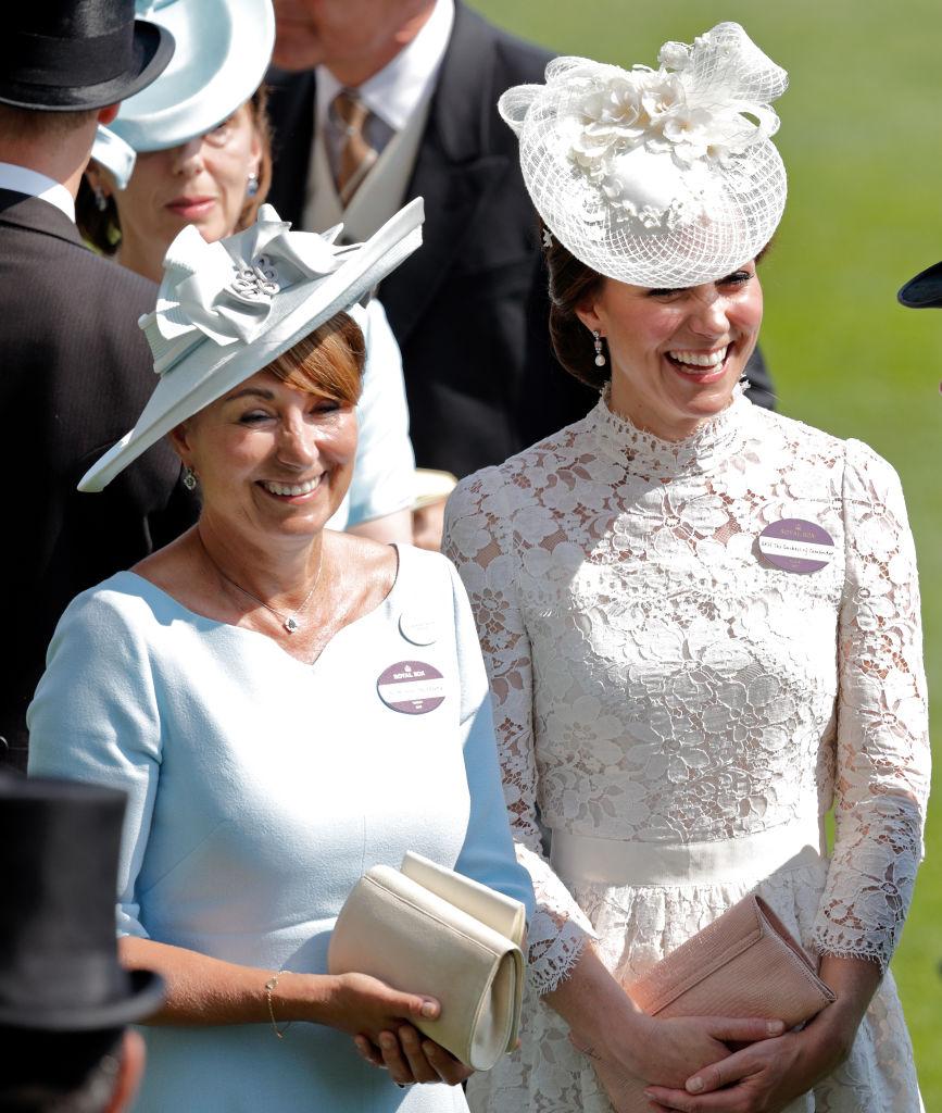 Kate Middleton and Carole Middleton