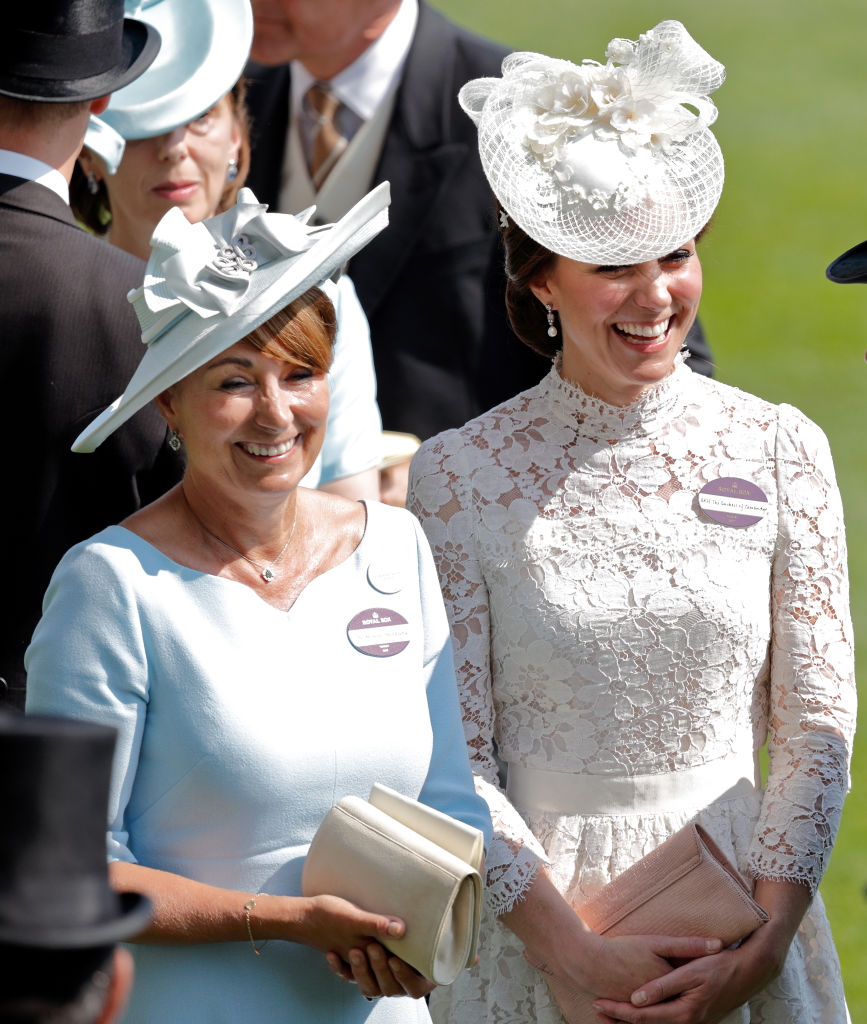 Kate Middleton and Carole Middleton