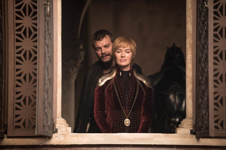 Lena Headey reacts to that King's Landing battle ending