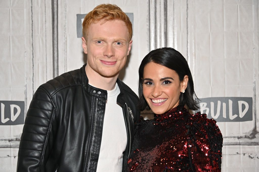 """Charlie Field and Tiffany Smith of """"Harry & Meghan: Becoming Royal"""""""