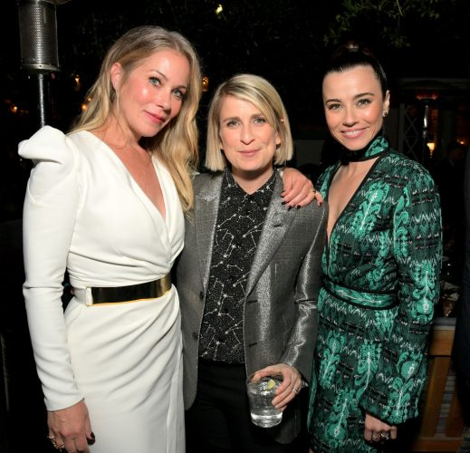 Christina Applegate, Liz Feldman, and Linda Cardellini.