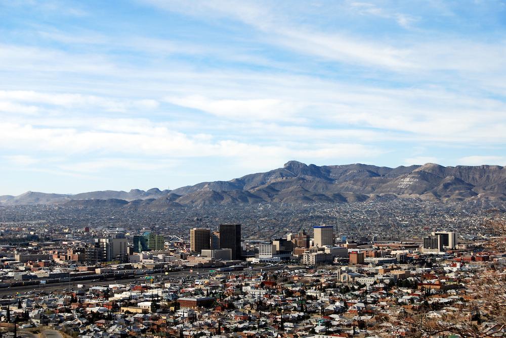 View of El Paso, TX