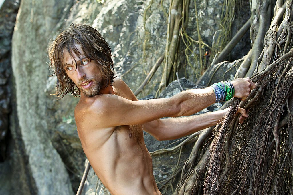 Erik Reichenbach during the ninth episode of SURVIVOR: CARAMOAN