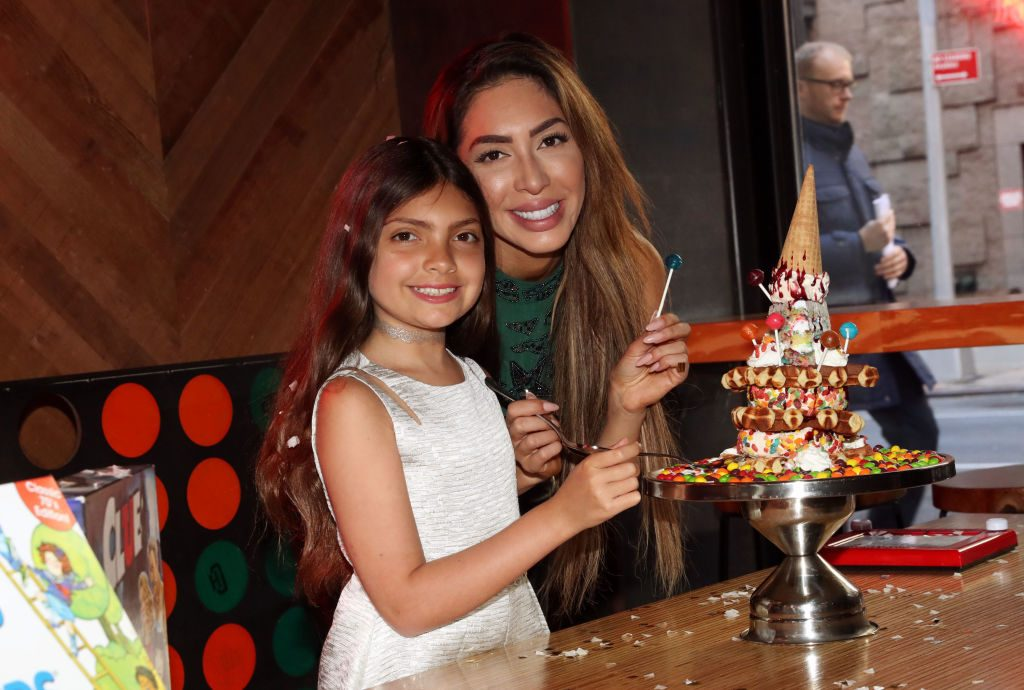 Farrah Abraham and Sophia Abraham| Johnny Nunez/WireImage