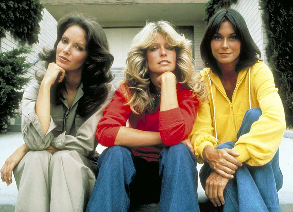 Farrah Fawcett with cast of Charlie's Angels   ABC Photo Archives/ABC via Getty Images