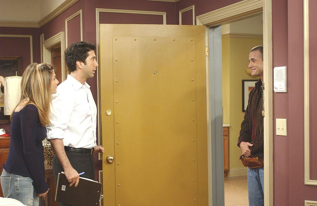Ross on Friends