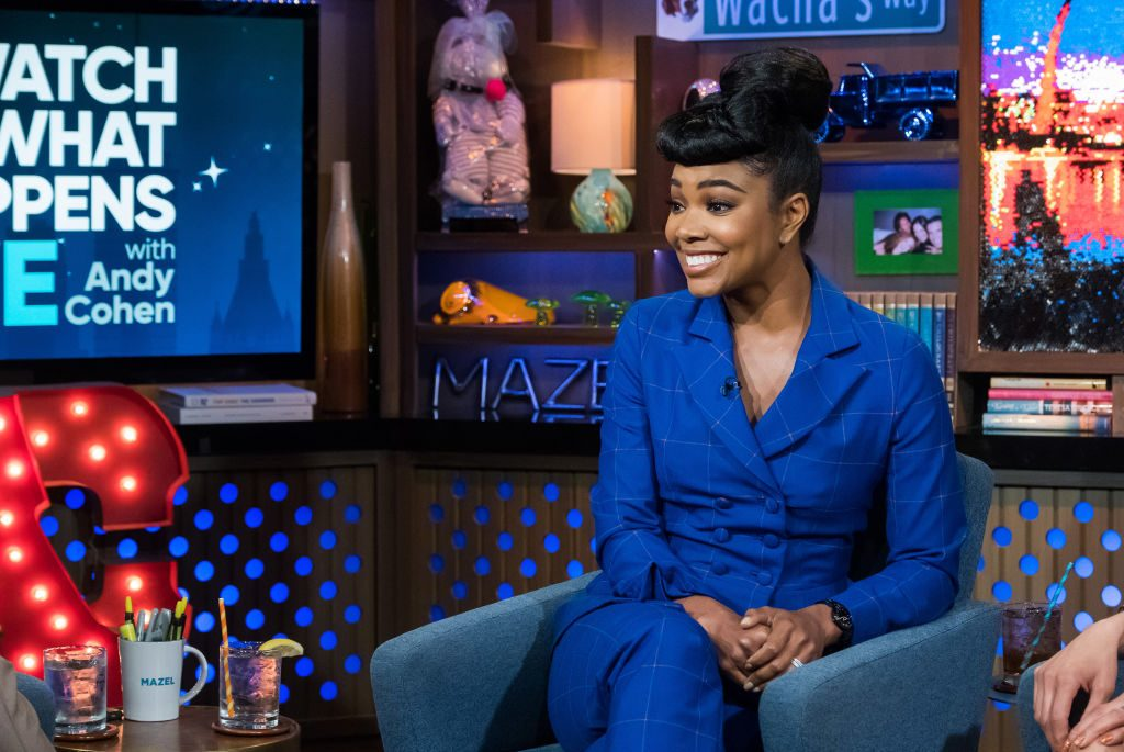 Gabrielle Union on Watch What Happens Live with Andy Cohen| Charles Sykes/Bravo/NBCU Photo Bank via Getty Images