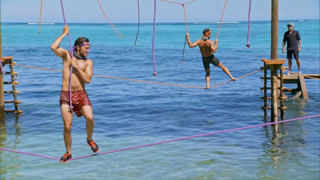 "Contestants on ""David vs. Goliath"" in beautiful Fiji"