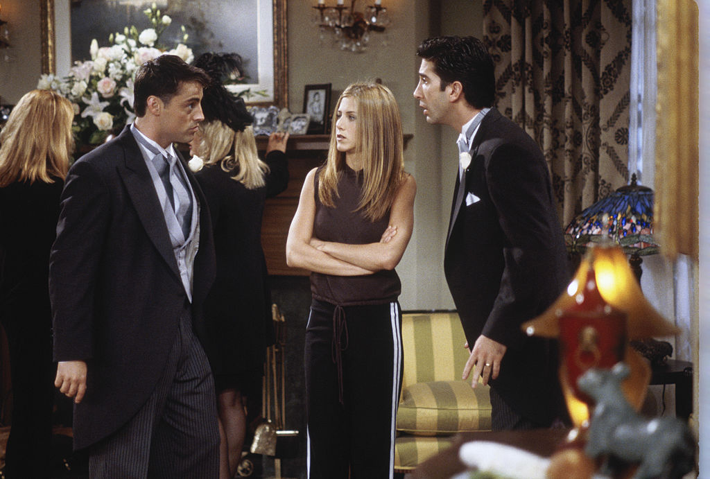 Ross, Joey, and Rachel