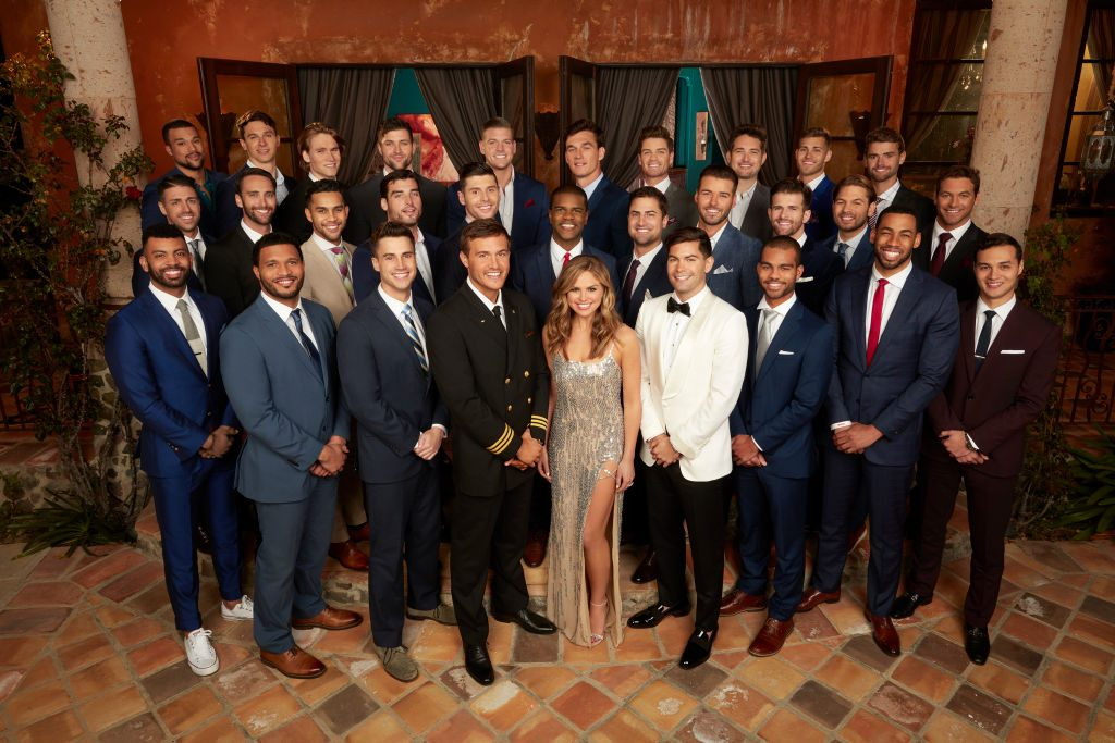 Hannah Brown and her contestants | ABC/Craig Sjodin