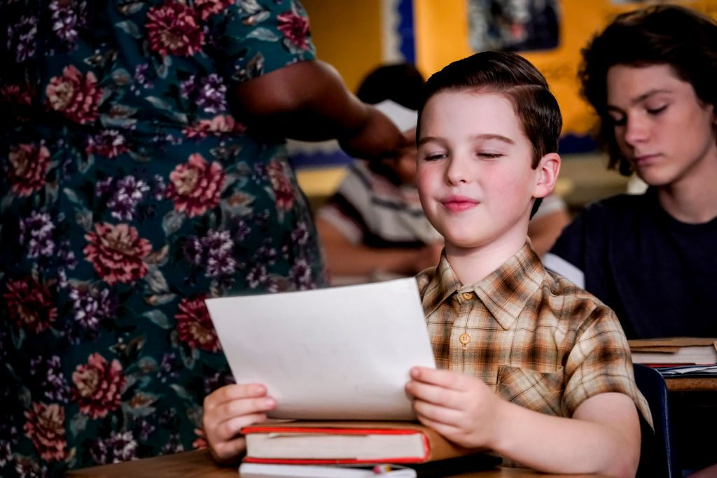 Iain Armitage as Sheldon Cooper on Young Sheldon  Cliff Lipson/CBS via Getty Images