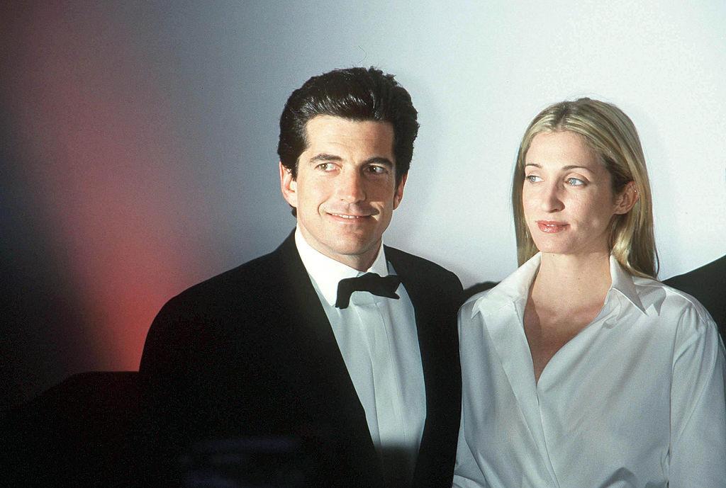 Jfk Jr And Carolyn - Lawrence Schwartzwald John Kennedy Jr