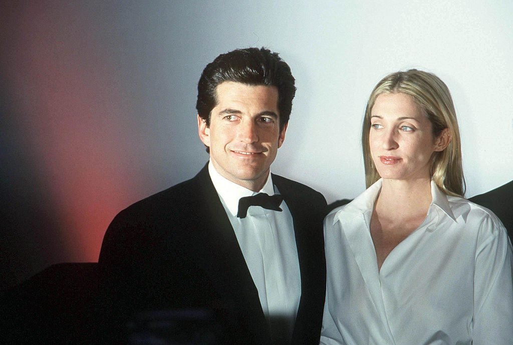 JFK Jr. and Carolyn Bessette Kennedy.