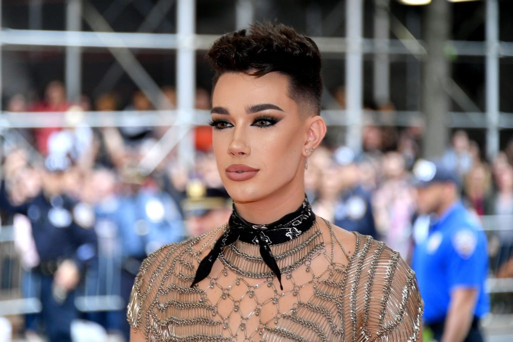 James Charles at Met Gala