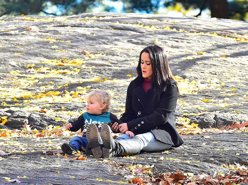 Jenelle Evans with son, Kaiser
