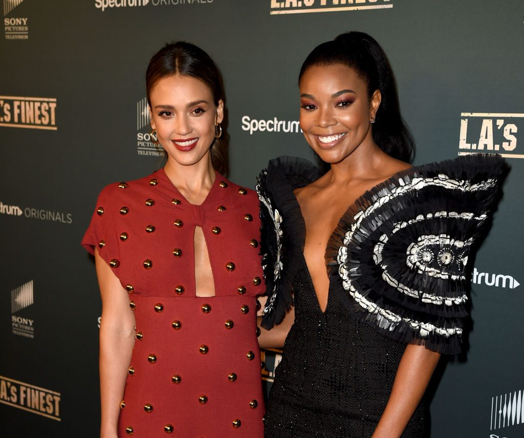 Jessica Alba and Gabrielle Union | Kevin Winter/Getty Images