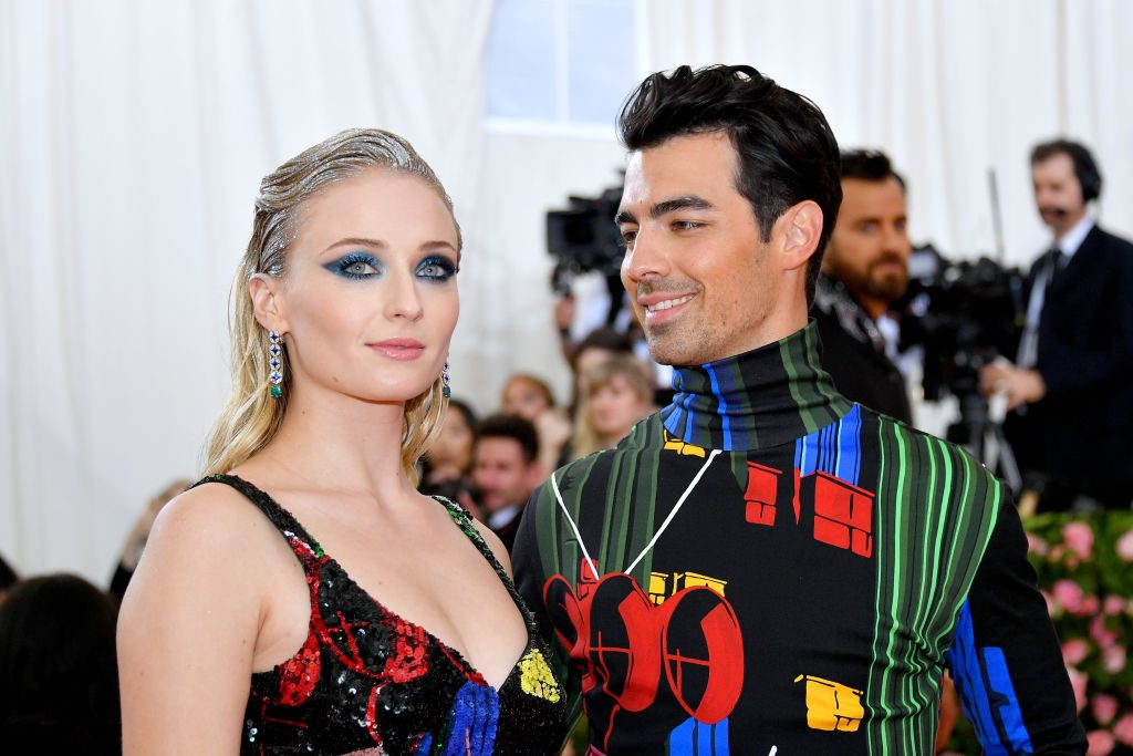 Sophie Turner and Joe Jonas attend The 2019 Met Gala Celebrating Camp: Notes on Fashion at Metropolitan Museum of Art