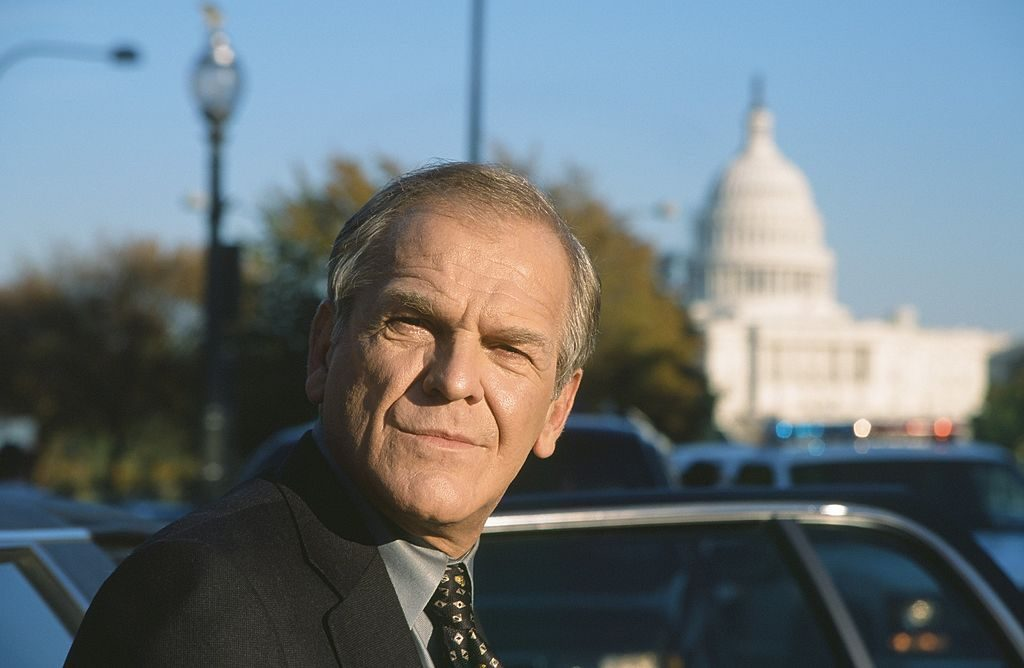 John Spencer as Leo McGarry on 'The West Wing.'