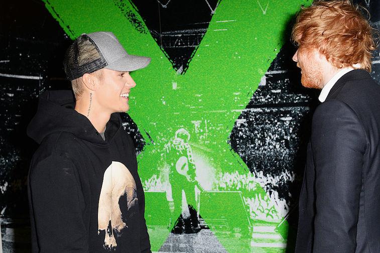 Justin Bieber Ed Sheeran