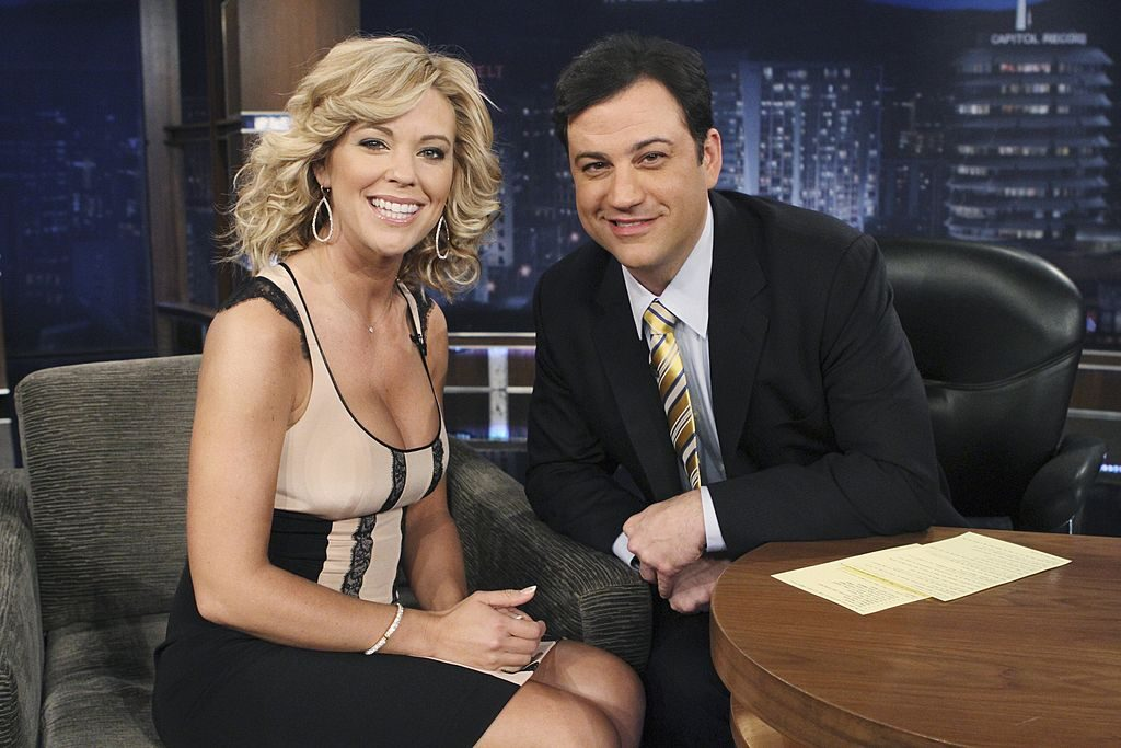 Kate Gosselin and Jimmy Kimmel