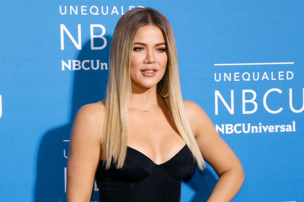 Khloe Kardashian attends the 2017 NBCUniversal Upfront at Radio City Music Hall