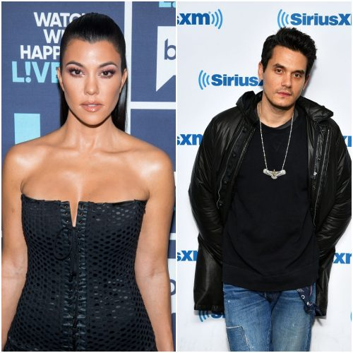 Kourtney Kardashian, John Mayer.