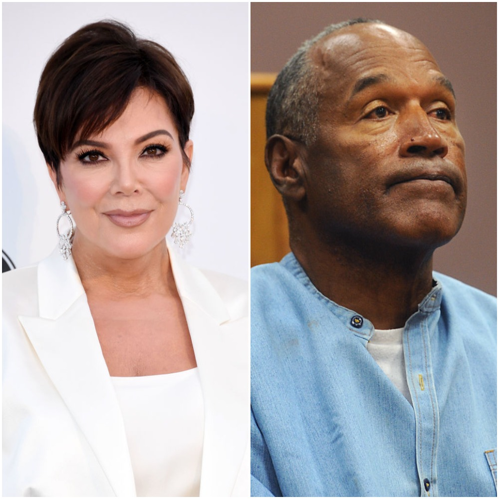 Kris Jenner and O.J. Simpson