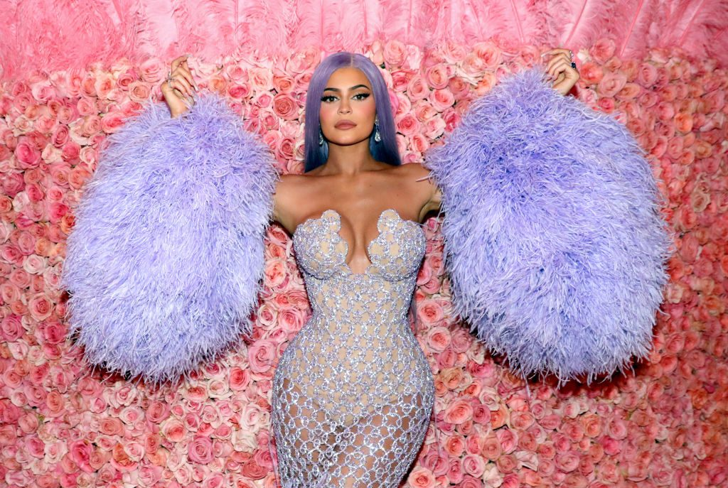 Kylie Jenner at the 2019 Met Gala Celebrating Camp: Notes on Fashion