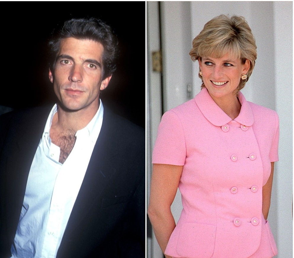 (L) John F. Kennedy Jr. (R) Princess Diana (2)
