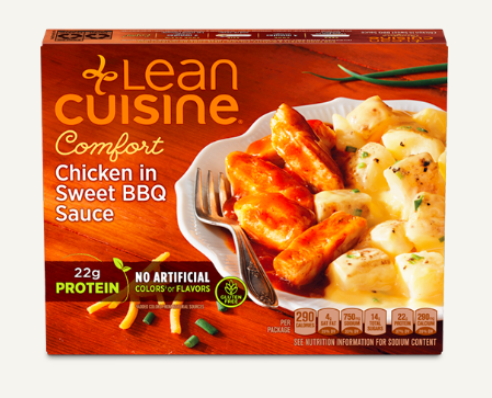 Chicken in sweet BBQ sauce freezer meal