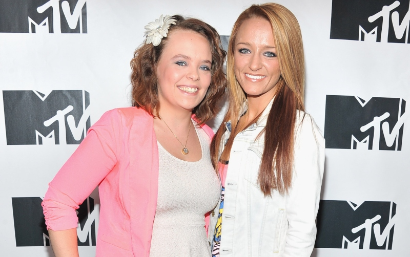 Maci Bookout and Catelynn Lowell