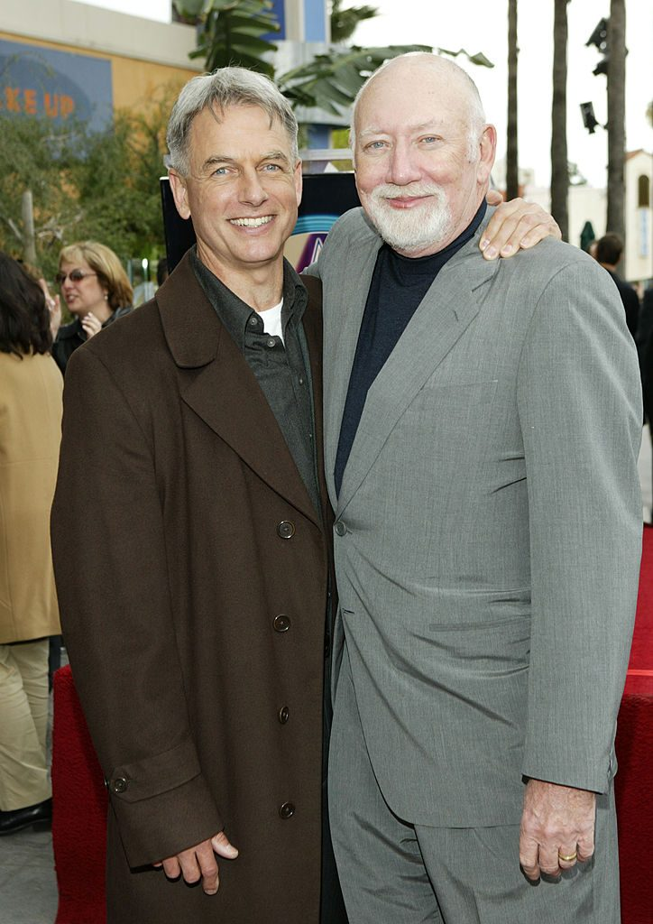 Mark Harmon and Donald P. Bellisario