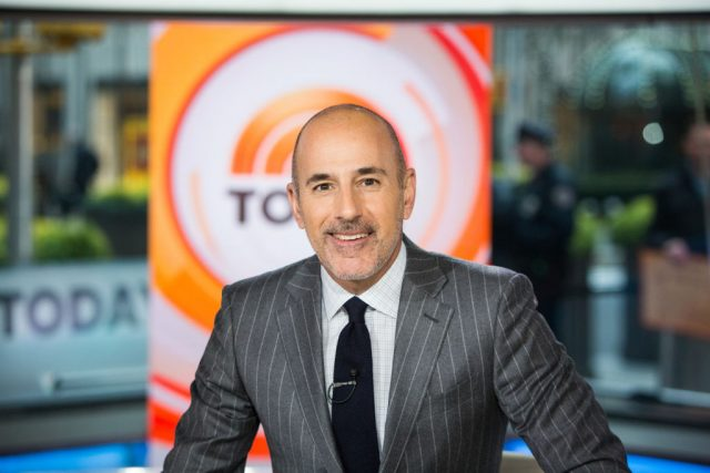 Matt Lauer was fired from 'Today' in November 2017.