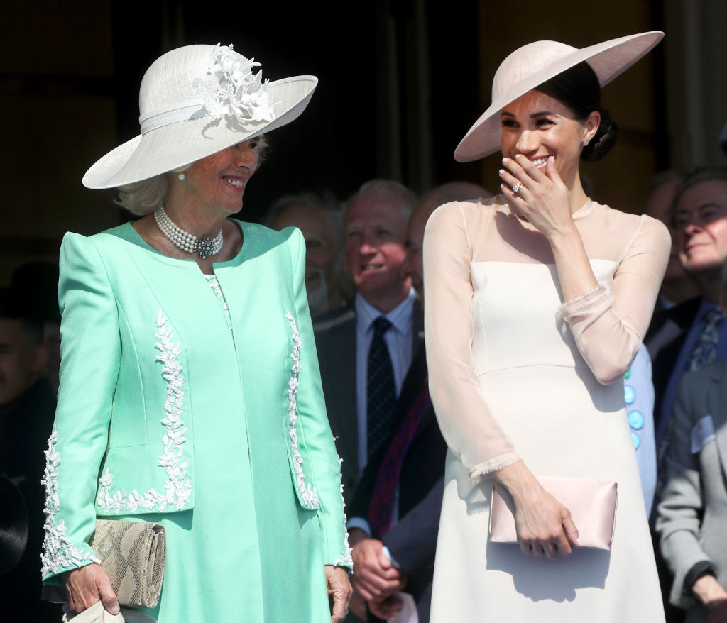 Meghan Markle and Camilla Parker Bowles