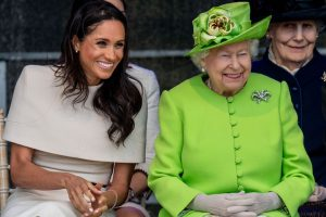 Why Did Queen Elizabeth Have to Pull Meghan Markle Aside Before the Wedding?