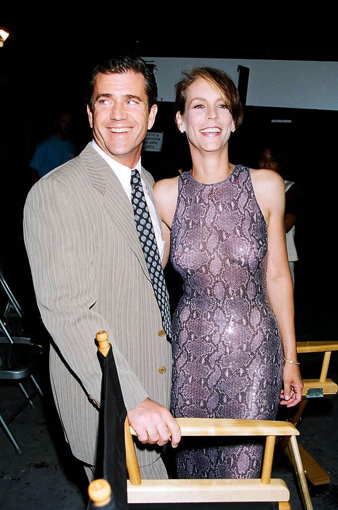 Jamie Lee Curtis and Mel Gibson