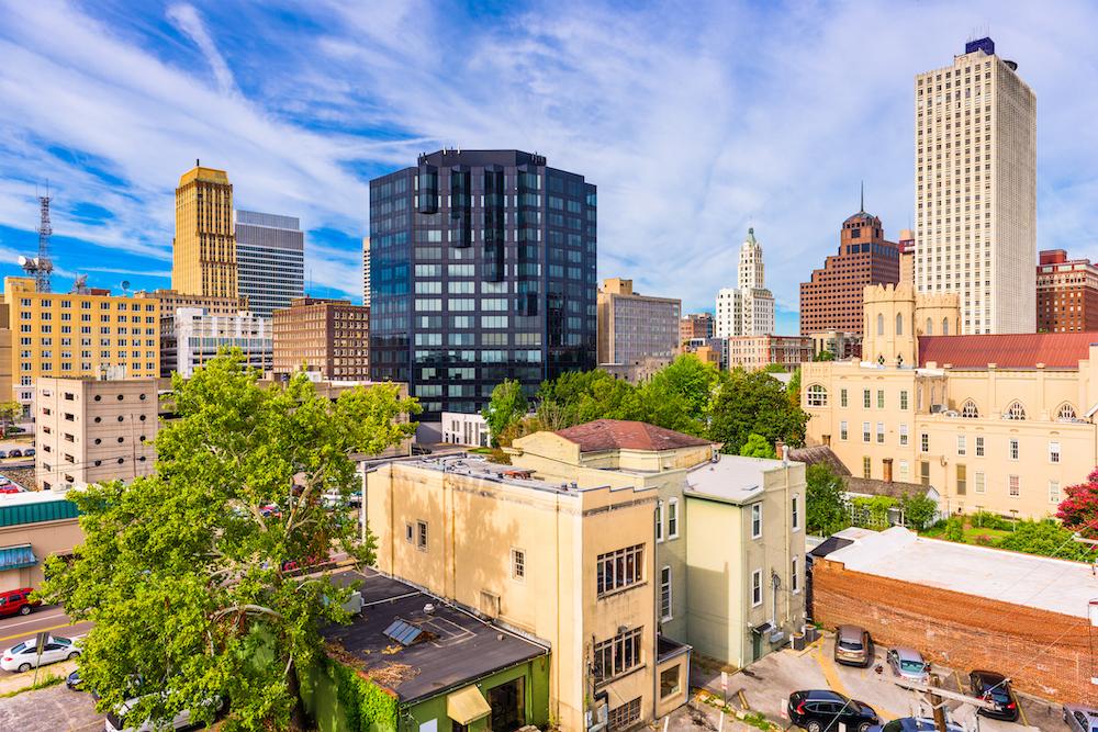 View of Memphis, TN