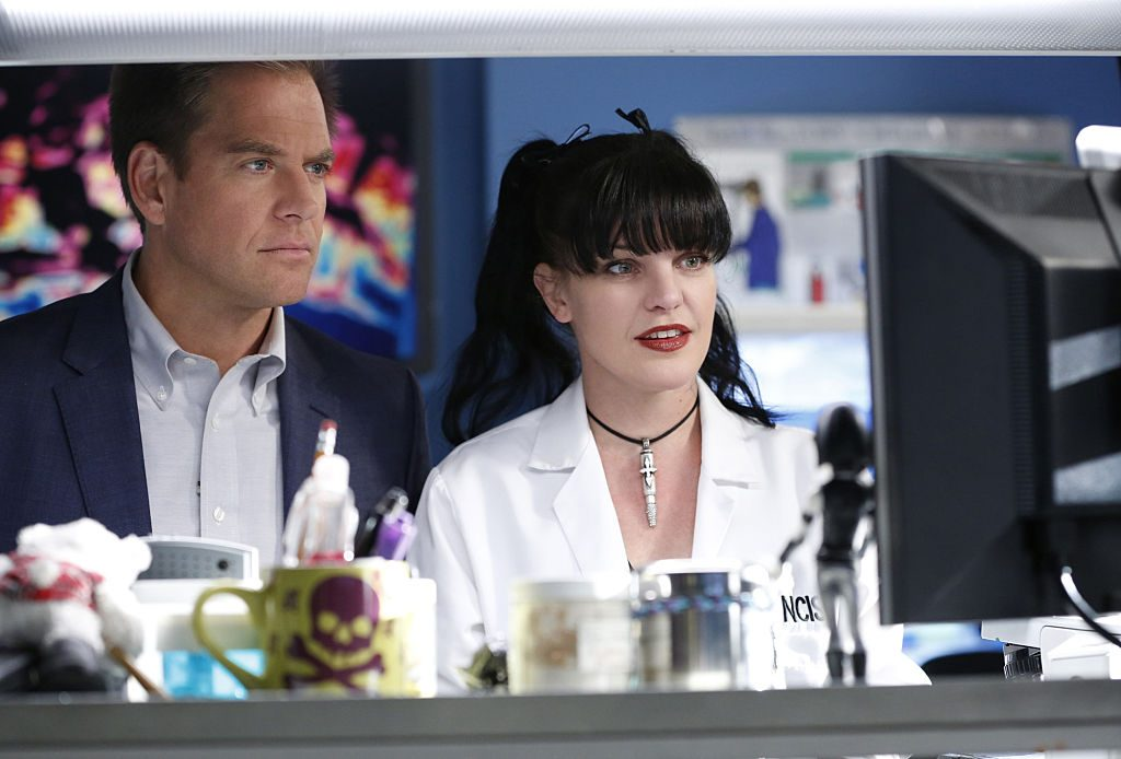 Michael Weatherly and Pauley Perrette|Cliff Lipson/CBS via Getty Images