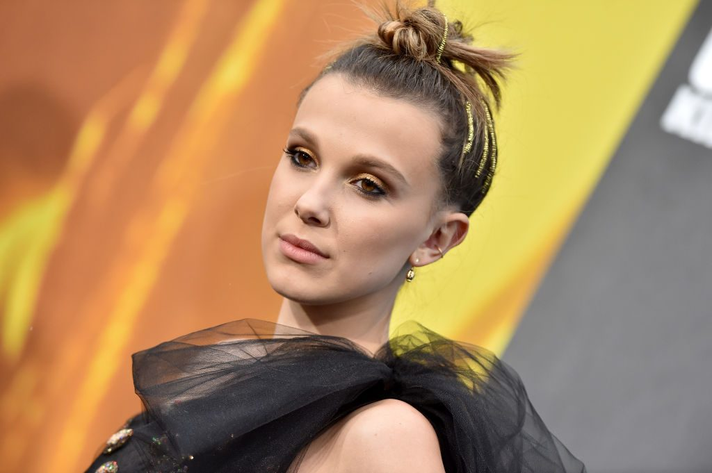 """Millie Bobby Brown attends the premiere of Warner Bros. Pictures and Legendary Pictures' """"Godzilla: King of the Monsters"""" at TCL Chinese Theatre"""
