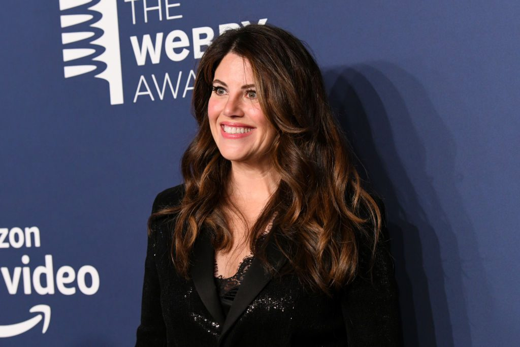 Mr. Personality host Monica Lewinsky