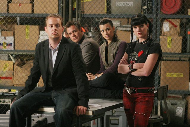 'NCIS star Sean Murray with former co-stars Michael Weatherly, Cote de Pablo, and Pauley Perrette