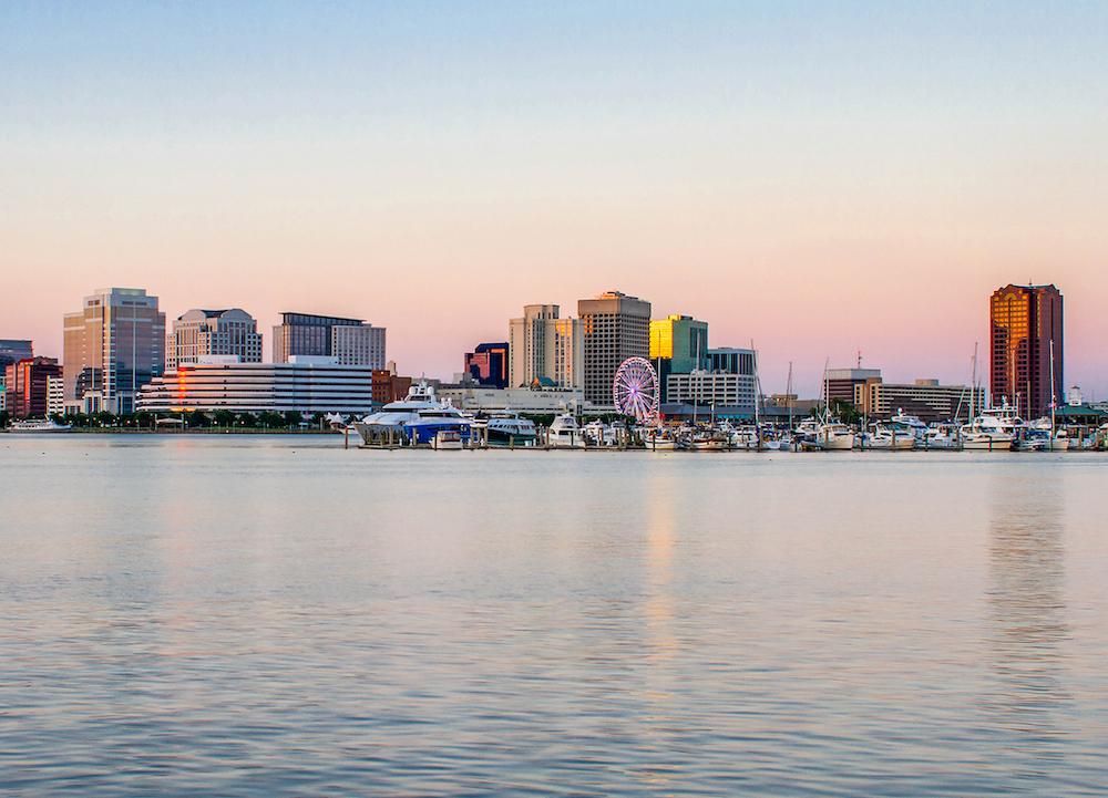 Norfolk, Virginia skyline