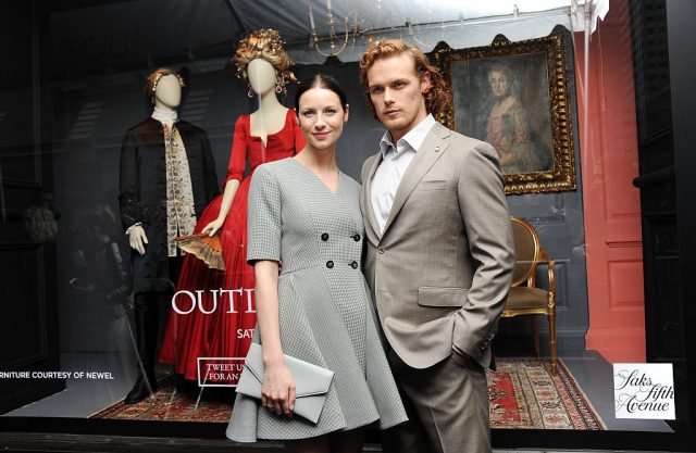 'Outlander' star Caitriona Balfe and Sam Heughan