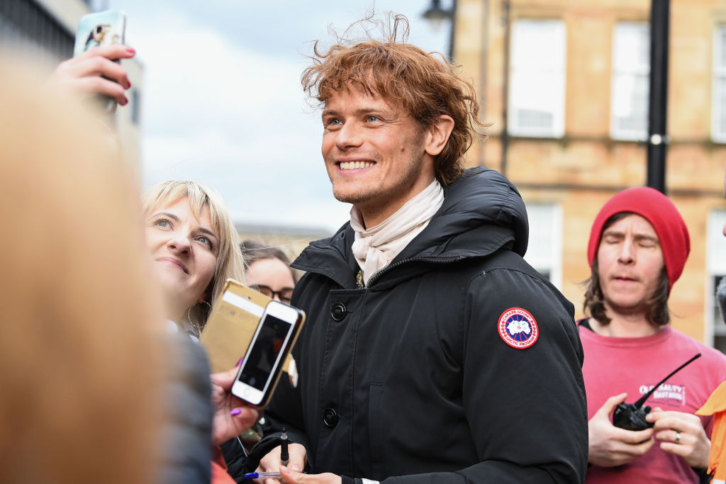 Outlander' Star Sam Heughan Just Announced A Major New Character For