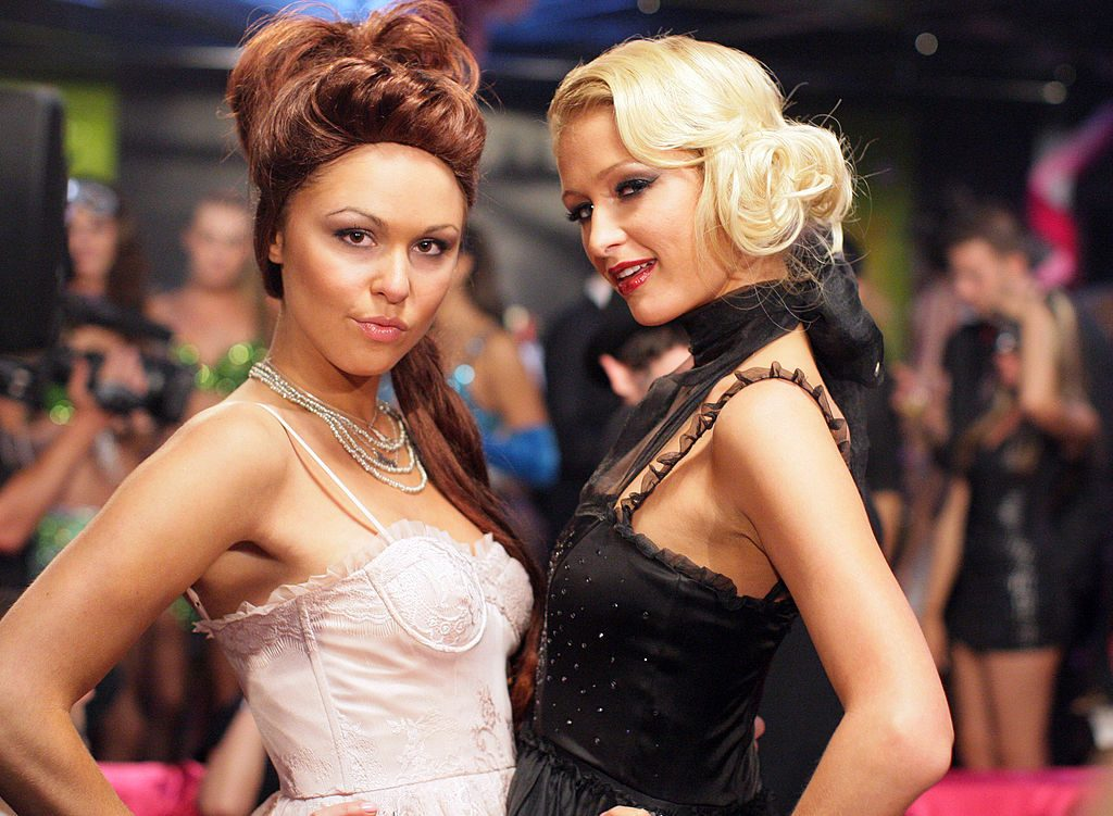Winner Brittany Flickinger and Paris Hilton